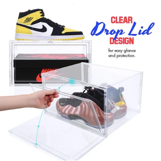 SoleMate Side Drop Lid Shoe Box - High-Cut - 4