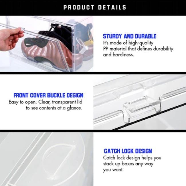 SoleMate Side Drop Lid Shoe Box - High-Cut - 5