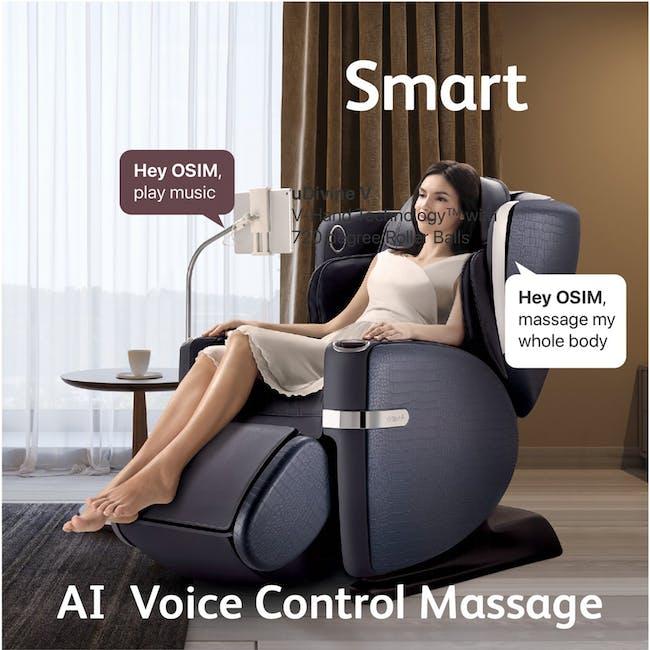 OSIM uLove 2 Massage Chair - Black - 1
