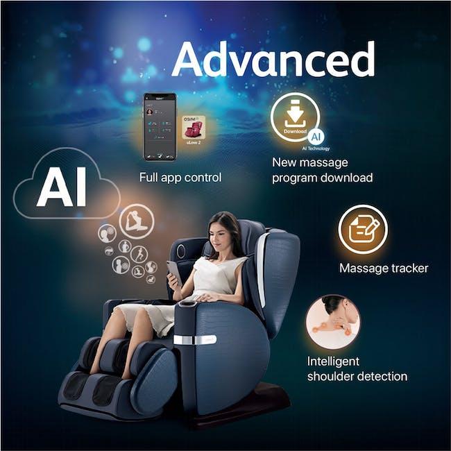 OSIM uLove 2 Massage Chair - Black - 2