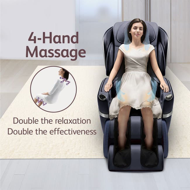 OSIM uLove 2 Massage Chair - Black - 4