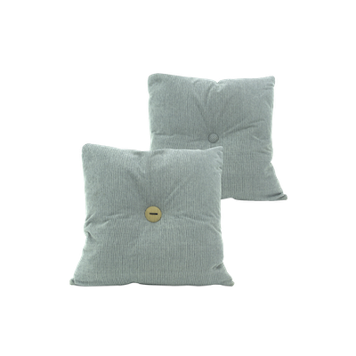 Distintivo Square Cushion - Carol, Down Feathers (Crash Fabric) - Image 2