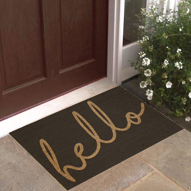 Hello Coir Door Mat - 2