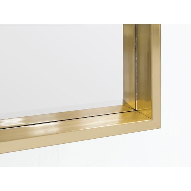 Julia Half-Length Mirror 60 x 80 cm - Brass - 2