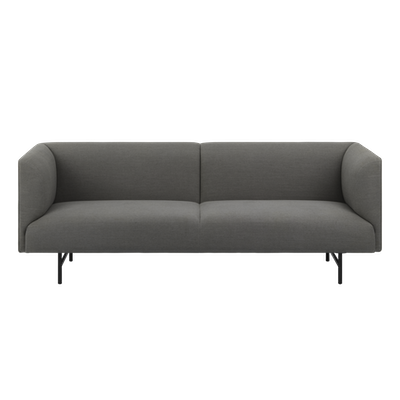 Navara 3 Seater Sofa - Grey - Image 1