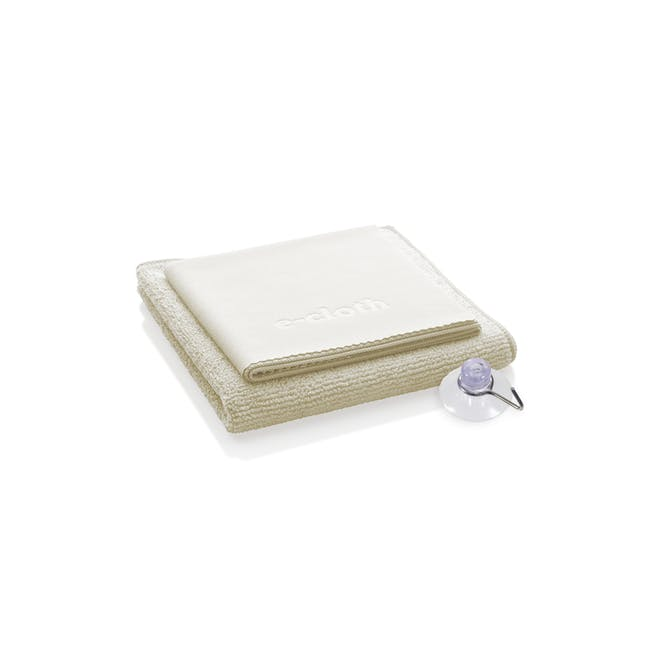 e-cloth Shower Eco Cleaning Cloth Pack (Set of 2) - 0