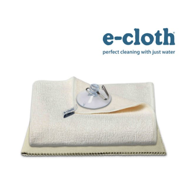 e-cloth Shower Eco Cleaning Cloth Pack (Set of 2) - 1