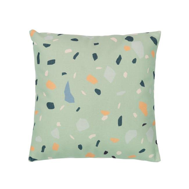 Thea Cushion Cover - Jade - 0