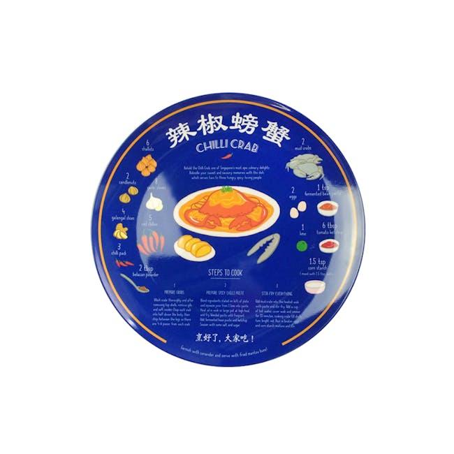 Red Republic Recipe Plates - Chilli Crab - 0