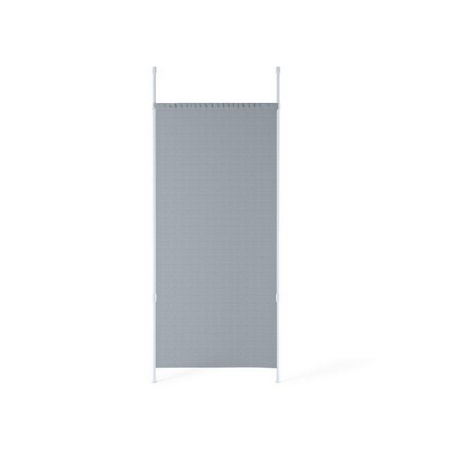 Anywhere Multipurpose Curtain Rod - White - 2