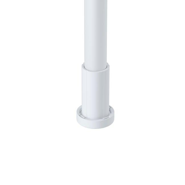 Anywhere Multipurpose Curtain Rod - White - 8