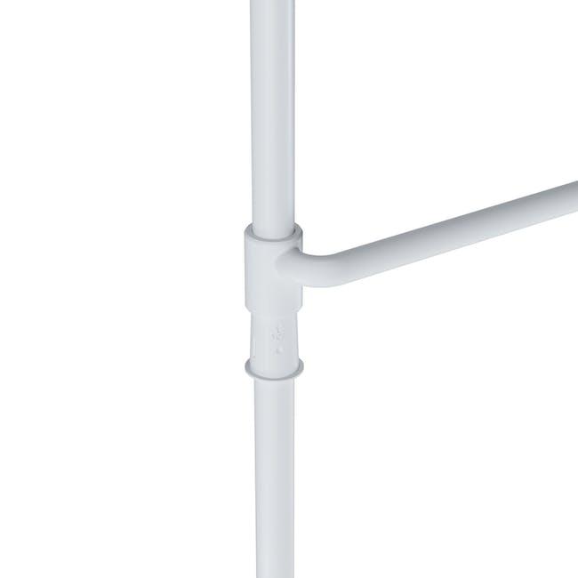 Anywhere Multipurpose Curtain Rod - White - 5