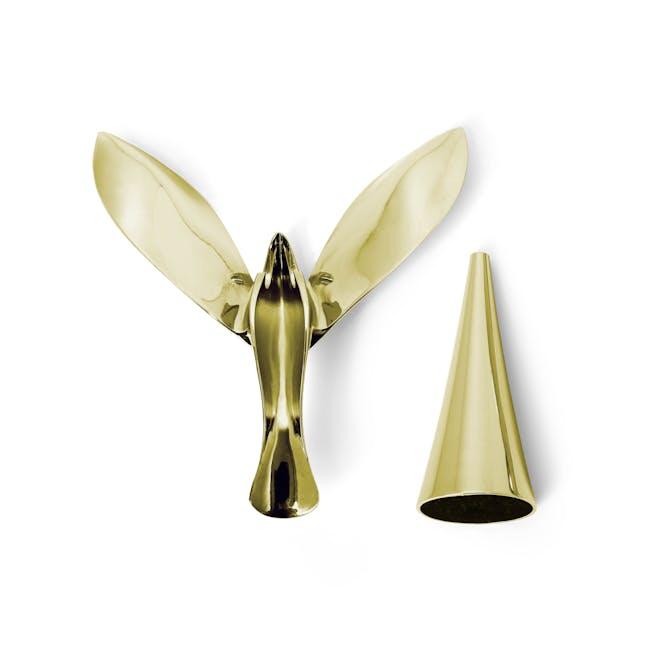 Tipsy Bottle Opener - Brass - 5