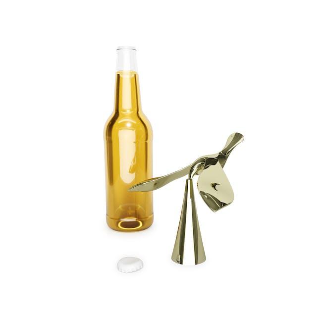 Tipsy Bottle Opener - Brass - 6