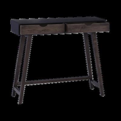 Magnus Console Table - Black, Walnut - Image 2