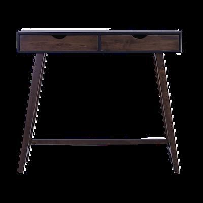 Magnus Console Table - Black, Walnut - Image 1