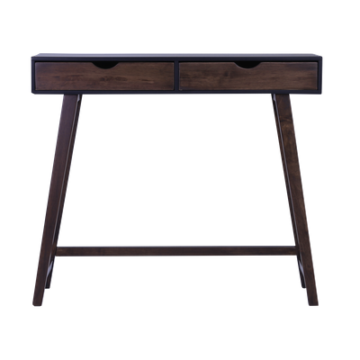 Magnus Console Table - Black, Walnut - Image 1
