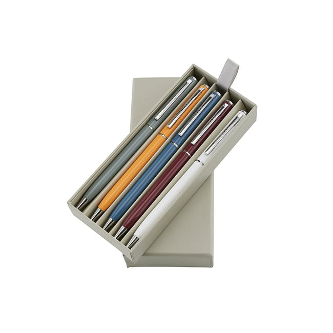 Lesley Multi Ball Point Pen - Black Ink (Set of 5) - 0