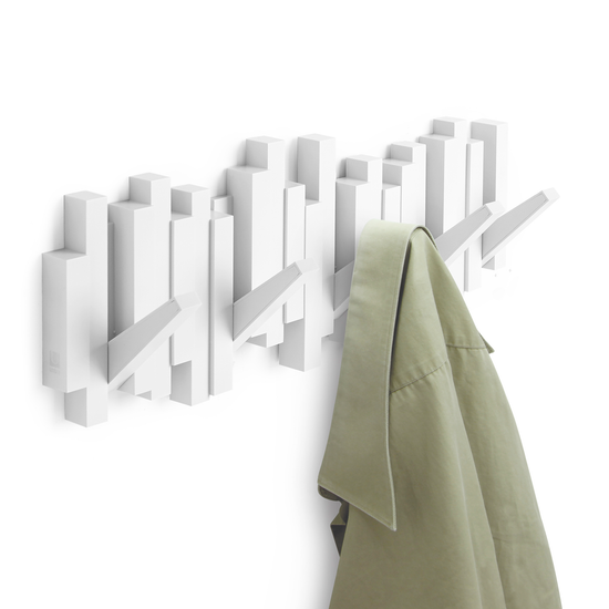Umbra - Sticks Multi Hook - White