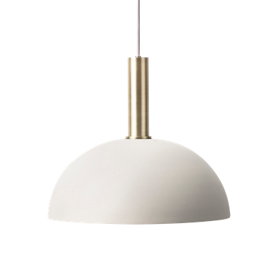 Erin Pendant Lamp - Brass,Light Grey - Image 1