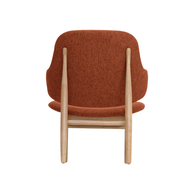 Veronic Lounge Chair - Russet, Oak - Image 2