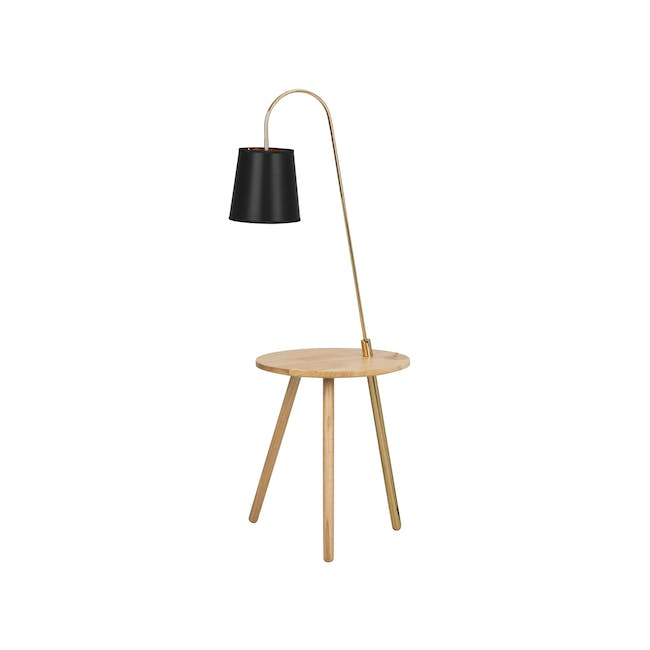Alonso Floor Lamp / Side Table - 0