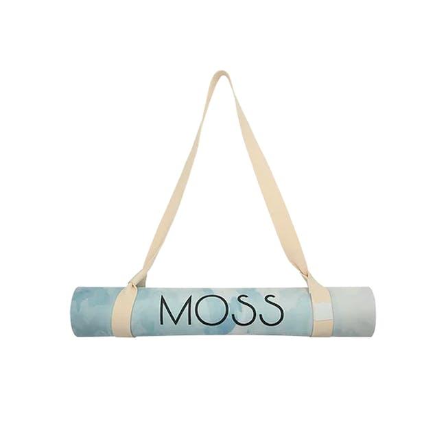 MOSS 2-in-1 Yoga Mat - Glacier - 1
