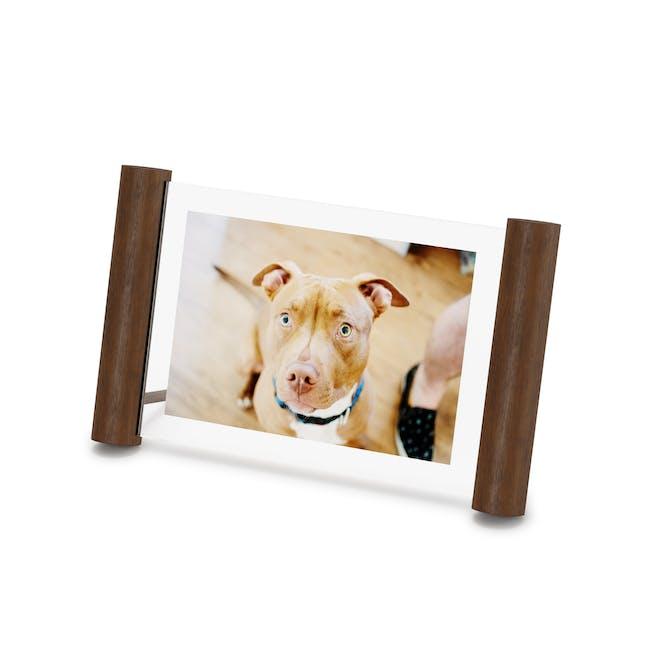Scroll Photo Display 4 x 6 - Walnut - 1