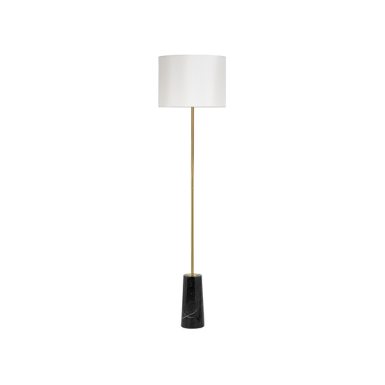 Sparker - Alyssa Floor Lamp - Brass