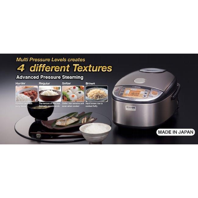 Zojirushi IH Pressure Rice Cooker NP-HRQ (2 Sizes) - 1