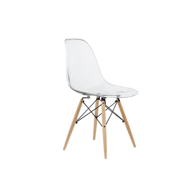 DSW Chair Replica - Natural, Clear - 1