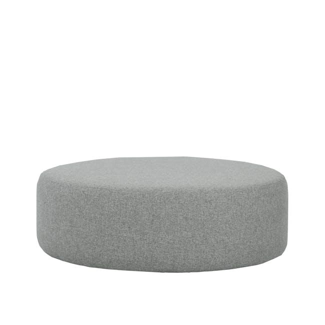 Omni Pouf - Pale Silver (Large) - 0