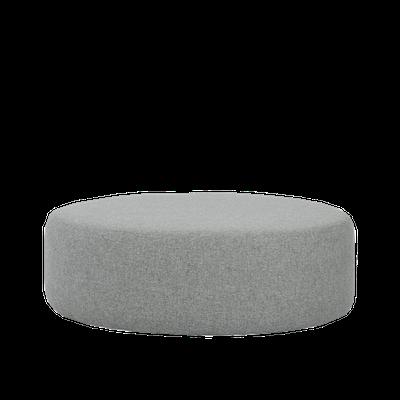 Omni Pouf - Pale Silver (Large) - Image 2