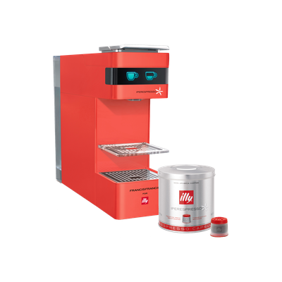 illy Y3 iperEspresso Coffee Machine - Red