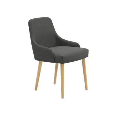 Loren Dining Chair - Grey - Image 2