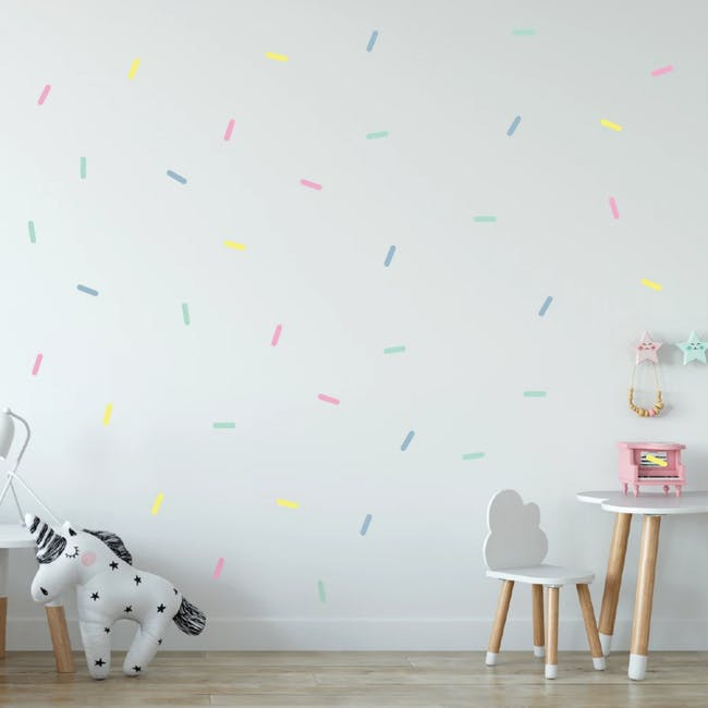 Urban Li'l Pastel Sprinkles Fabric Decal - 0