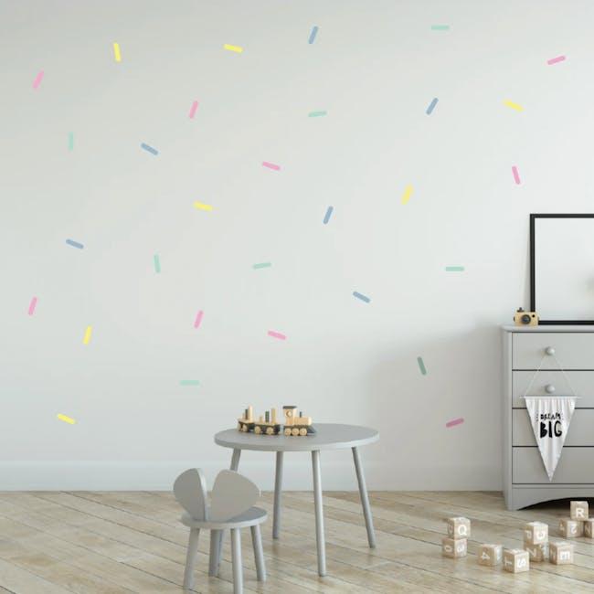 Urban Li'l Pastel Sprinkles Fabric Decal - 1
