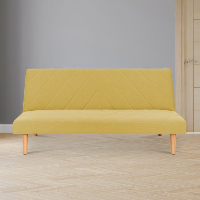 Laura Sofa Bed - Custard - 1