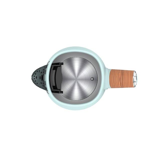 Odette Otto Series 1.7L Temperature Control Electric Kettle - Light Green - 2