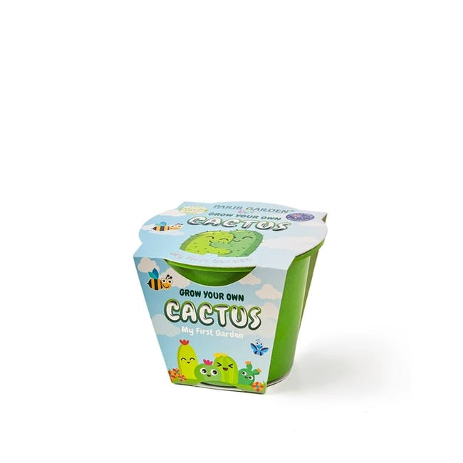 Kids Biodegradable Pot: Cactus - 0