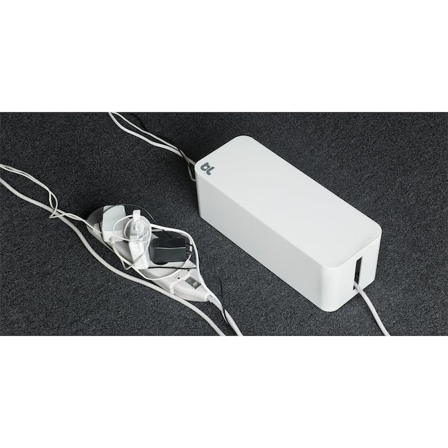 Bluelounge CableBox - White - 6