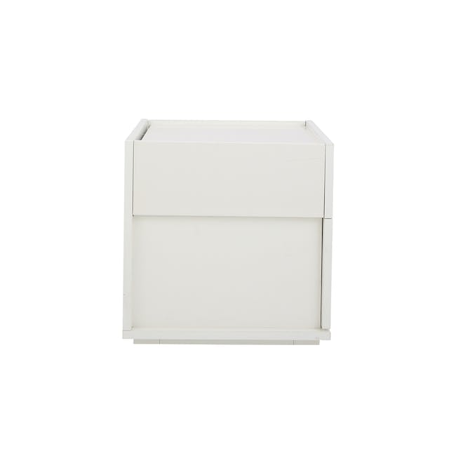 Baron Twin Drawer Bedside Table - 4