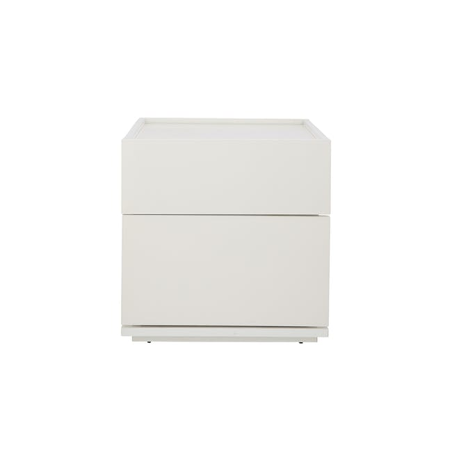 Baron Twin Drawer Bedside Table - 0