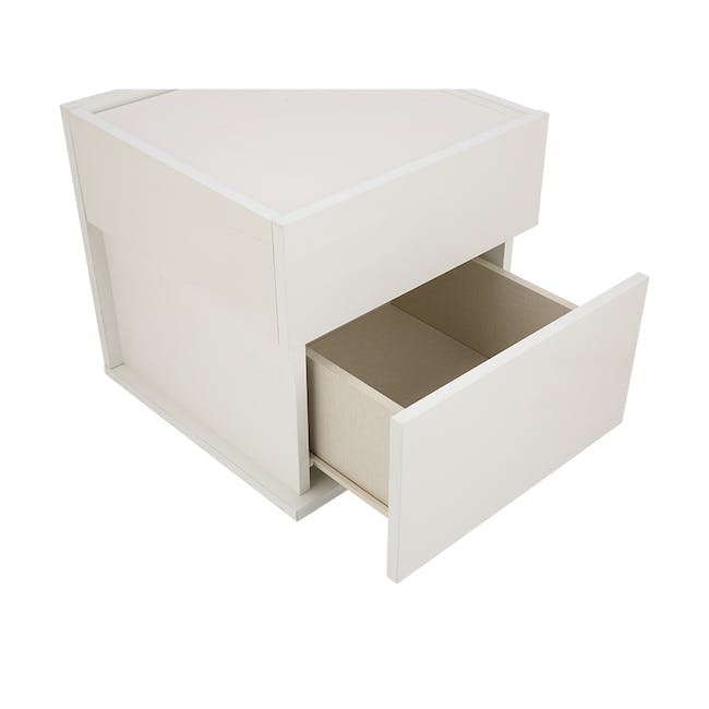 Baron Twin Drawer Bedside Table - 3
