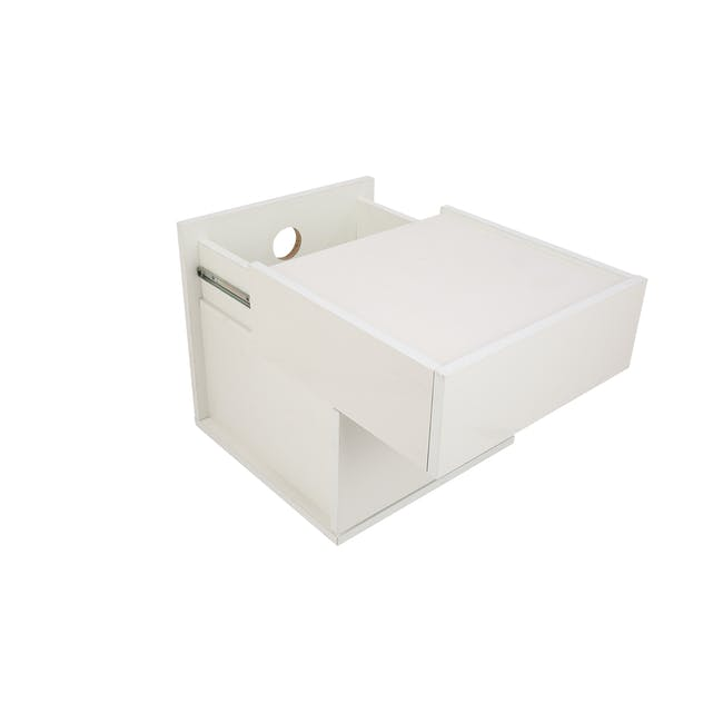Baron Twin Drawer Bedside Table - 8