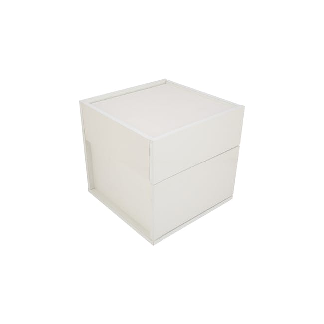 Baron Twin Drawer Bedside Table - 9