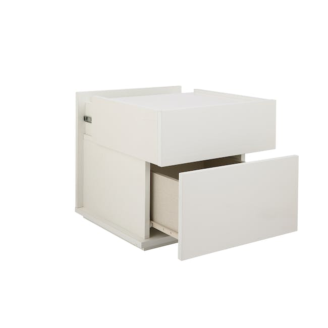 Baron Twin Drawer Bedside Table - 1