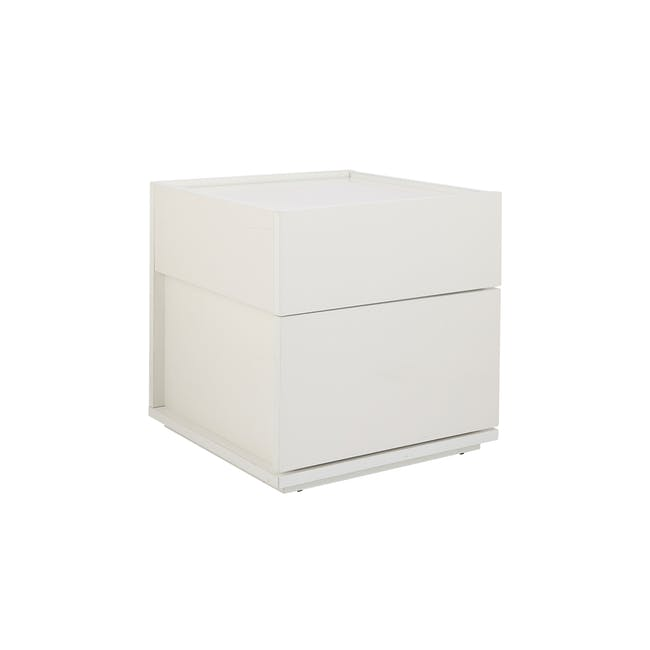 Baron Twin Drawer Bedside Table - 5