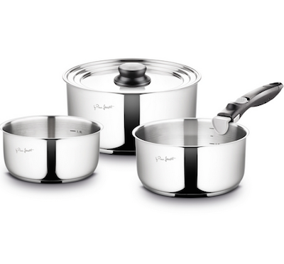 Lamart Stainless Steel Pots Set - Image 1