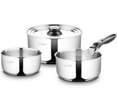 Lamart Stainless Steel Pots Set - Image 1